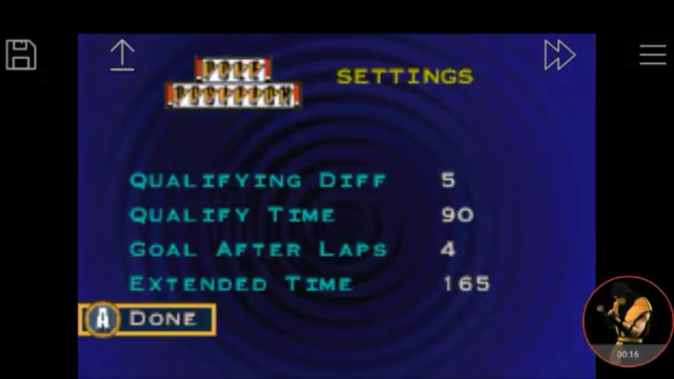 omargeddon: Namco Museum: Pole Position (GBA Emulated) 40,290 points on 2017-12-23 17:10:34