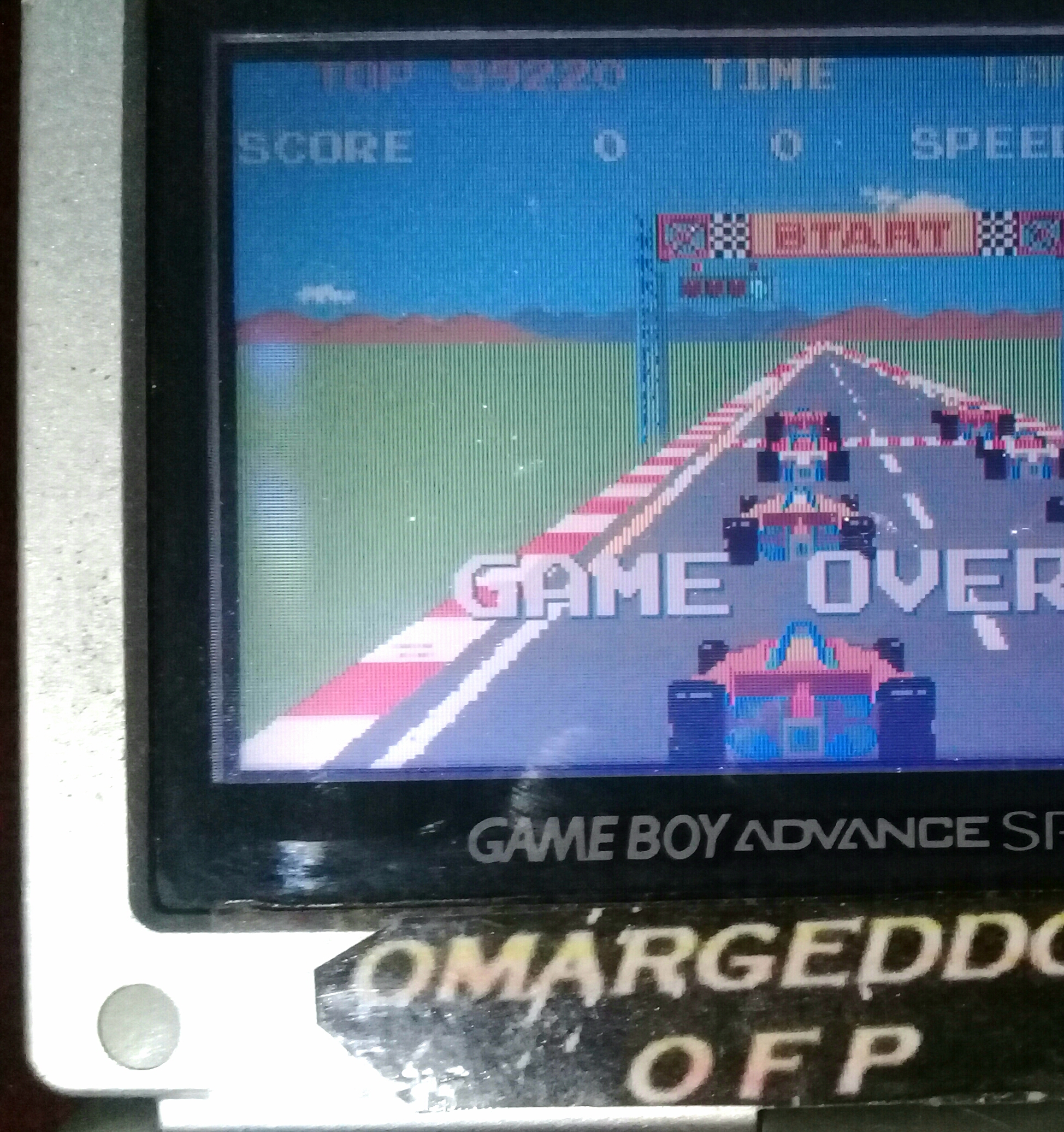 Namco Museum: Pole Position 59,220 points