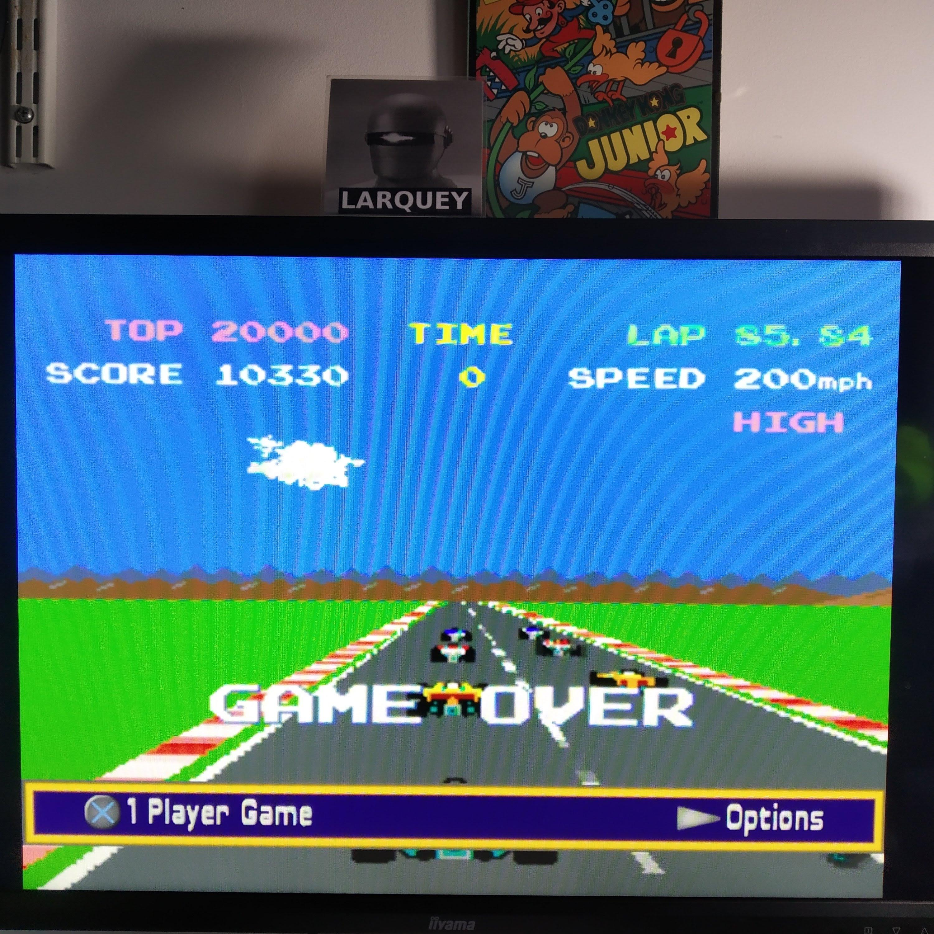 Larquey: Namco Museum: Pole Position II [Seaside Track] (Playstation 2 Emulated) 10,330 points on 2020-08-08 08:17:07