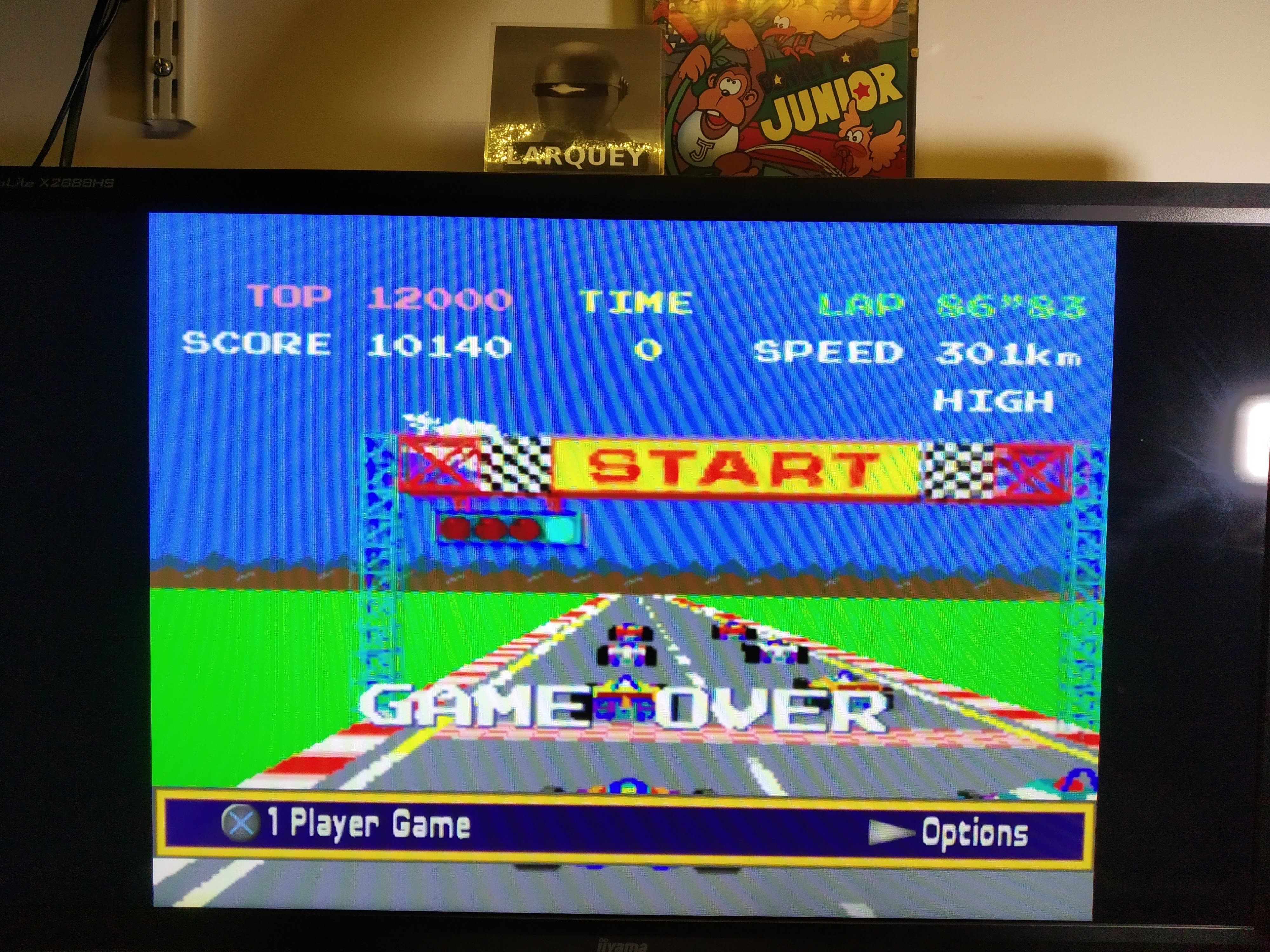 Larquey: Namco Museum: Pole Position (Playstation 2 Emulated) 10,140 points on 2020-08-08 02:37:37