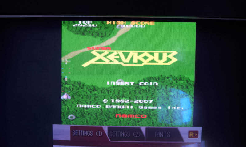 Larquey: Namco Museum: Super Xevious (Nintendo DS Emulated) 28,240 points on 2018-08-15 05:46:41