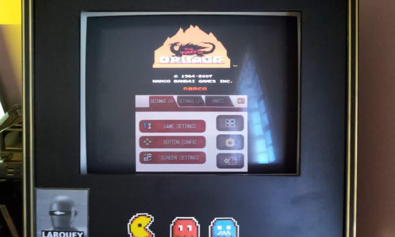 Larquey: Namco Museum: Tower of Druaga (Nintendo DS Emulated) 22,180 points on 2018-08-15 05:44:52