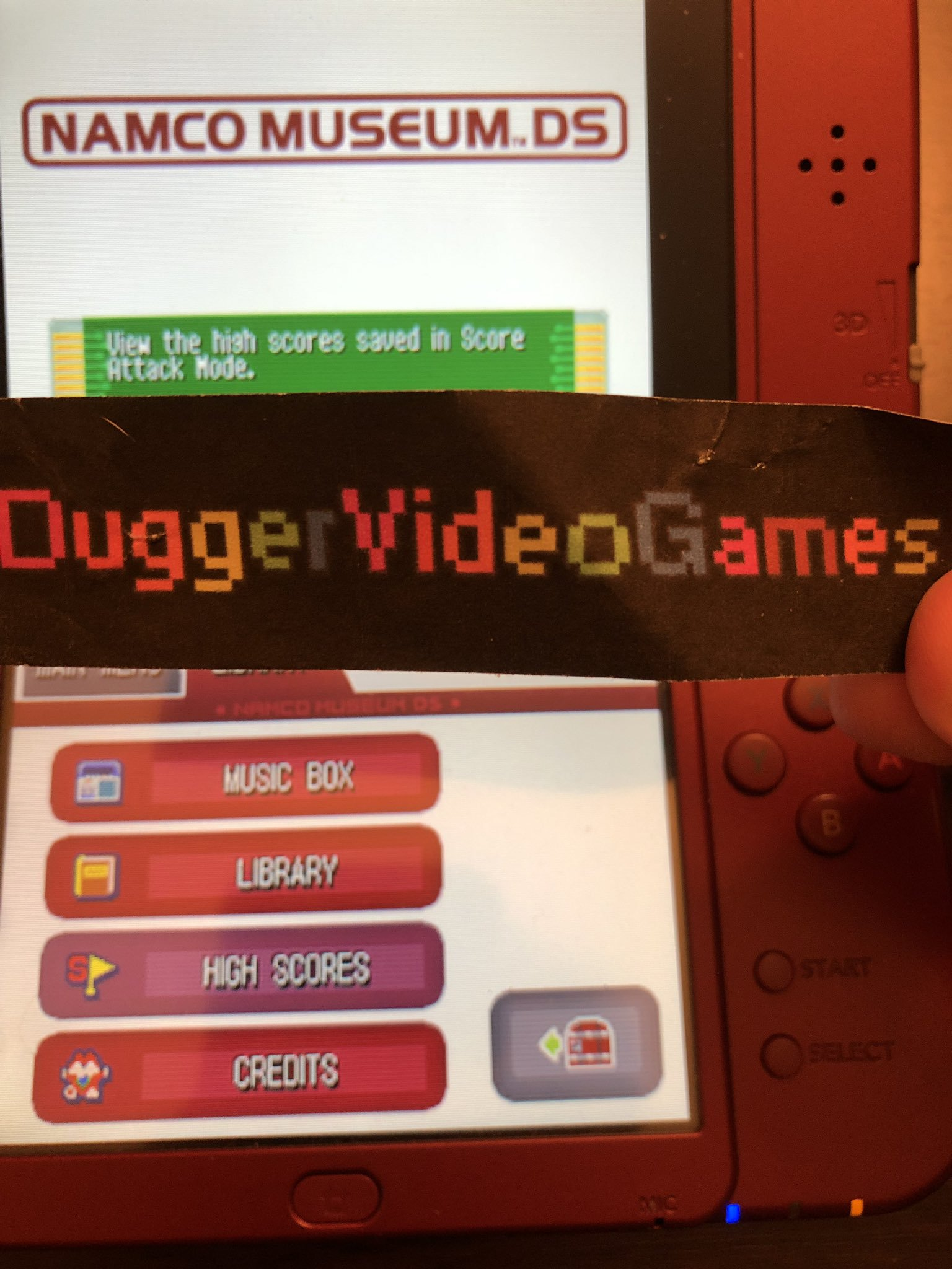 DuggerVideoGames: Namco Museum: Tower of Druaga (Nintendo DS) 249,910 points on 2019-09-03 02:14:26