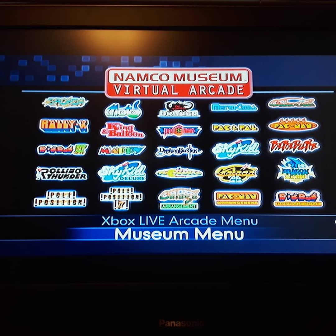Namco Museum Virtual Arcade: Baraduke 2,120 points