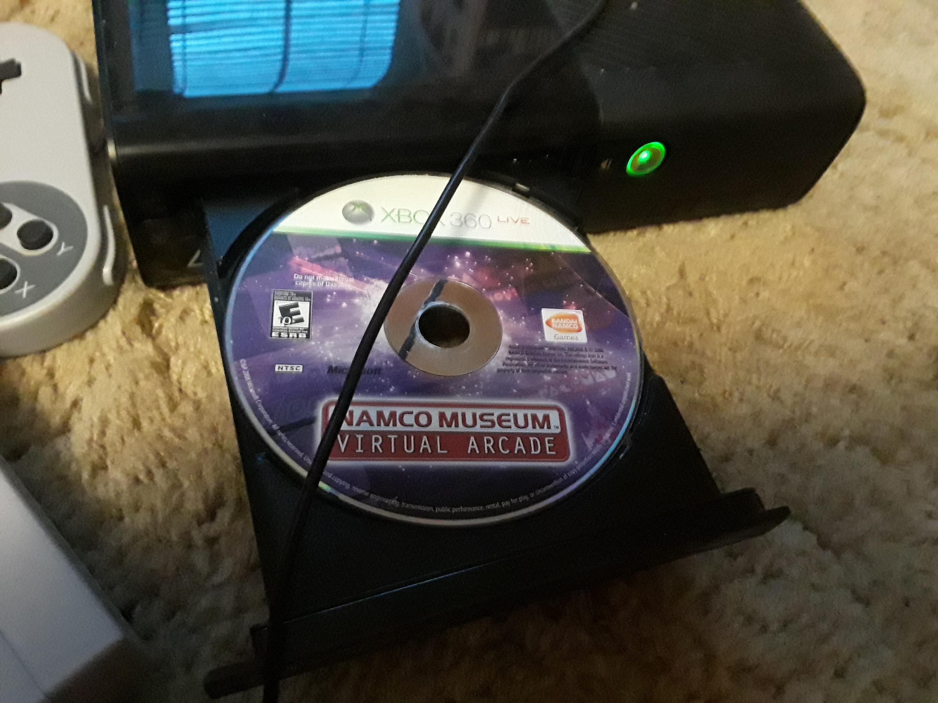 Namco Museum Virtual Arcade: Galaga