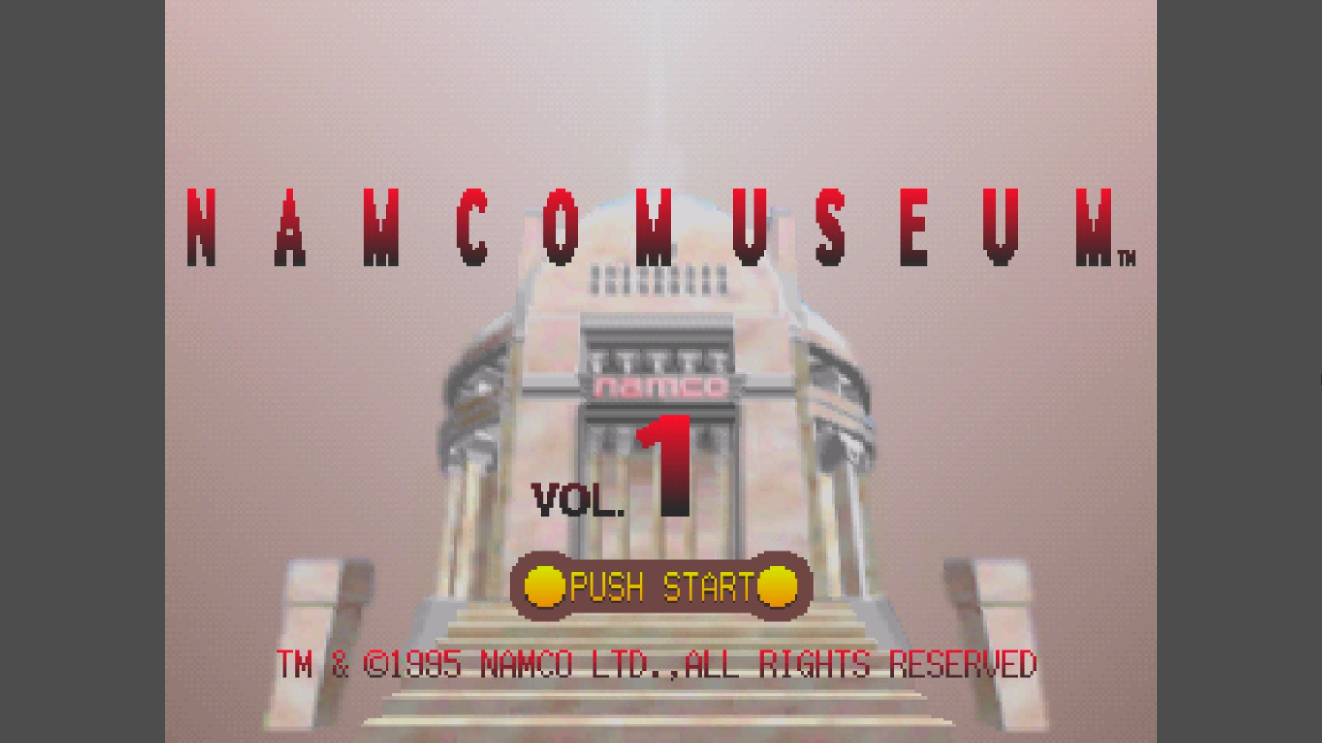 Namco Museum Vol. 1: Bosconian 17,700 points