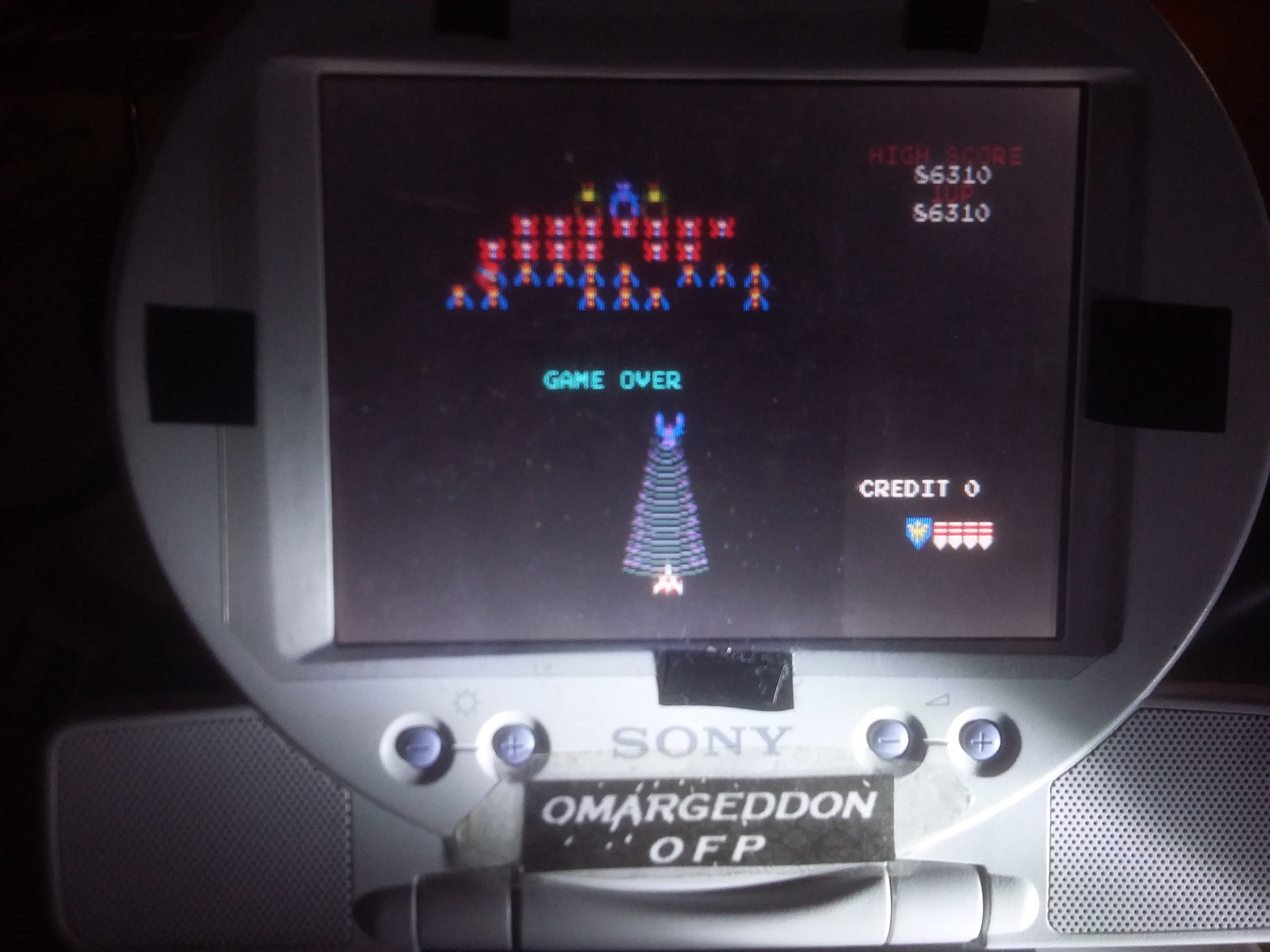 omargeddon: Namco Museum Vol. 1: Galaga (Playstation 1) 86,310 points on 2017-01-03 01:32:00