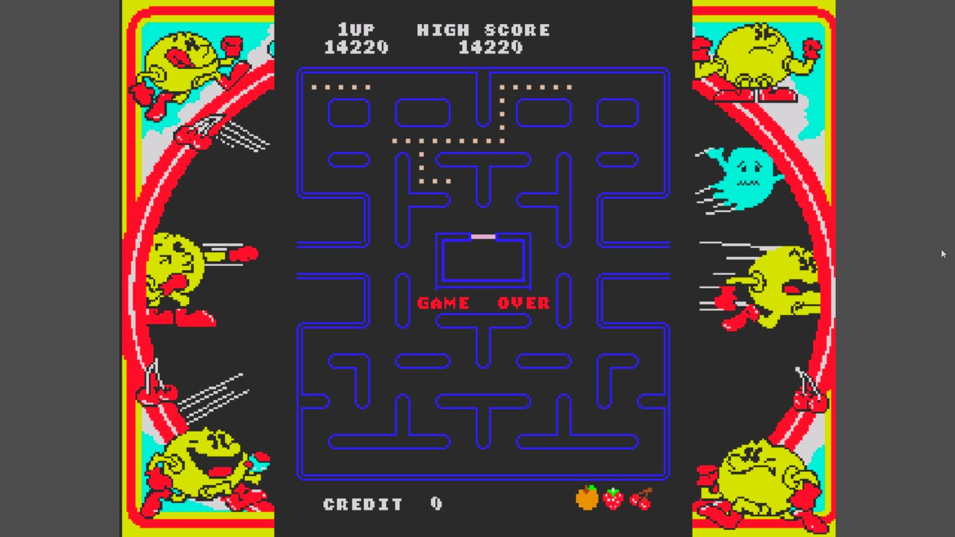 Namco Museum Vol. 1: Pac-Man 14,220 points