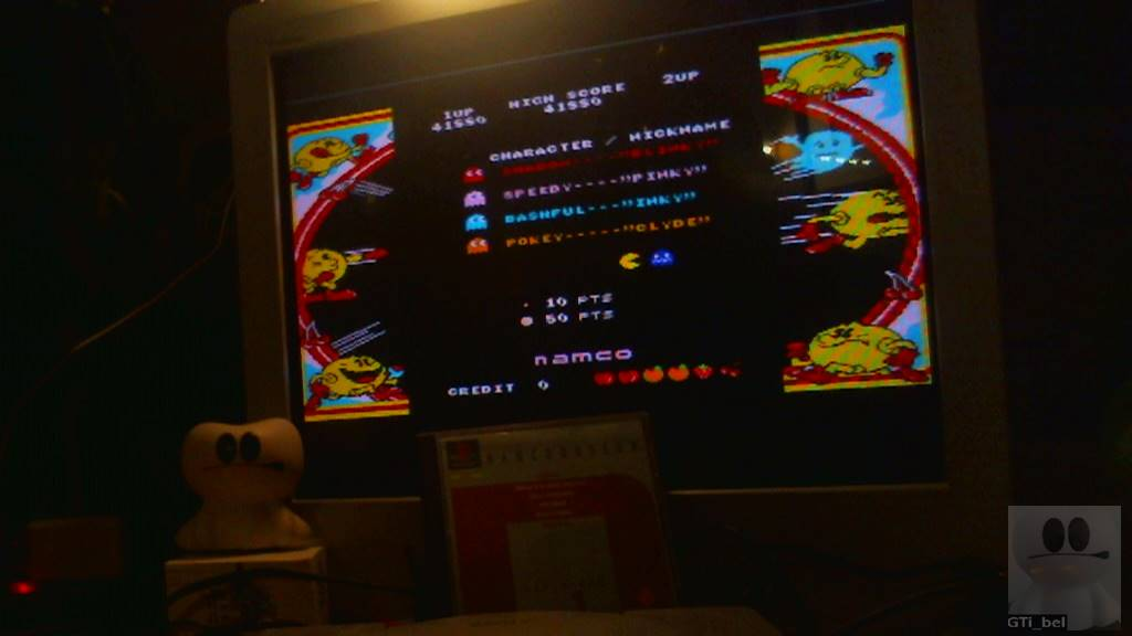 Namco Museum Vol. 1: Pac-Man 41,880 points