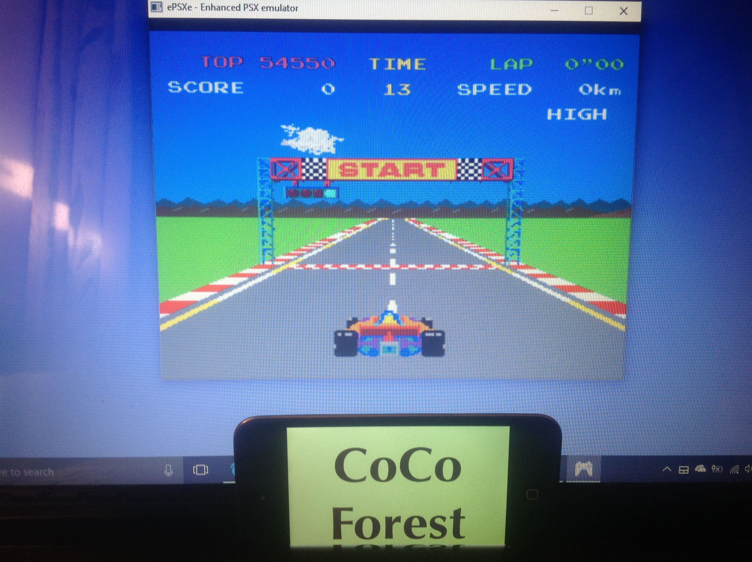 CoCoForest: Namco Museum Vol. 1: Pole Position (Playstation 1 Emulated) 54,550 points on 2018-02-01 08:26:58
