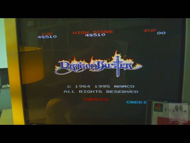 Namco Museum Vol. 2: Dragon Buster 48,510 points