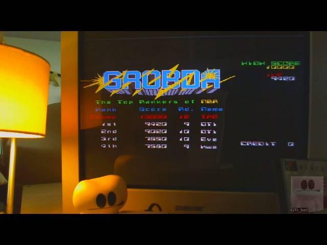 GTibel: Namco Museum Vol. 2: Grobda (Playstation 1) 9,420 points on 2019-05-27 10:28:49