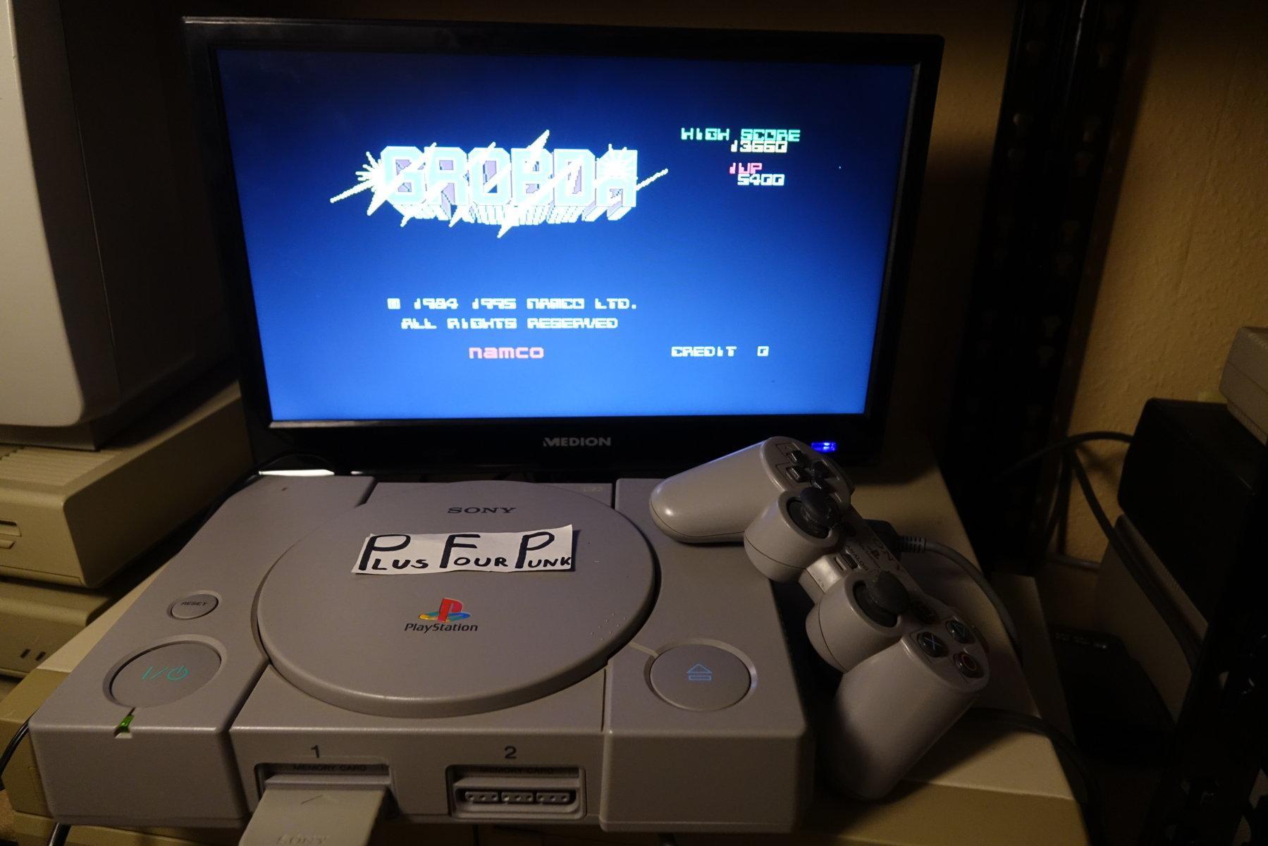 plus4punk: Namco Museum Vol. 2: Grobda (Playstation 1) 13,660 points on 2020-04-12 14:15:59