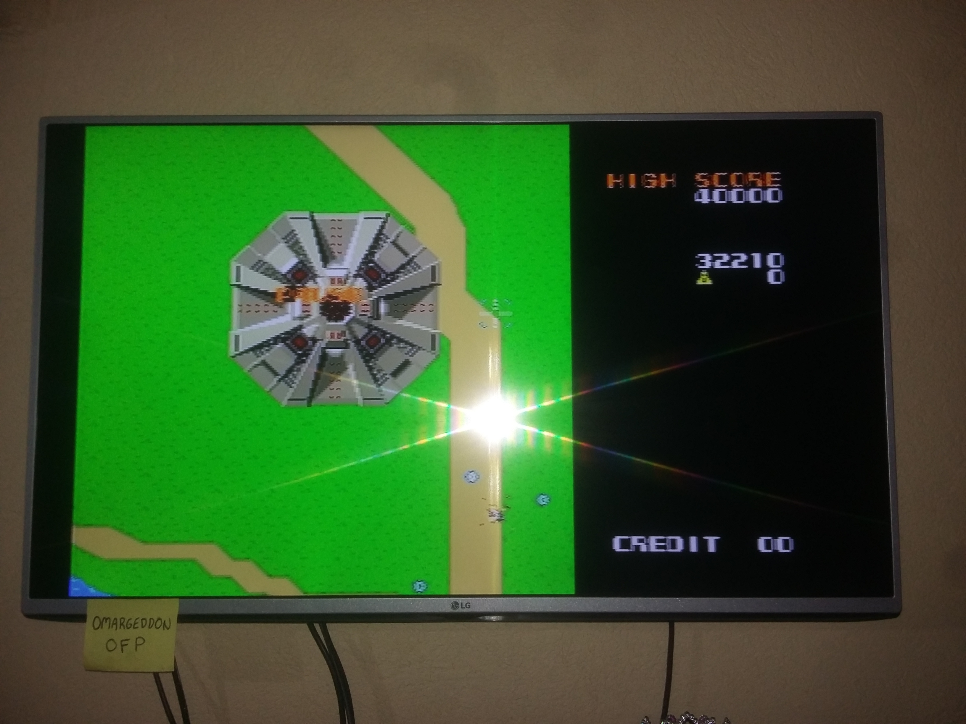 Namco Museum Vol. 2: Xevious 32,210 points