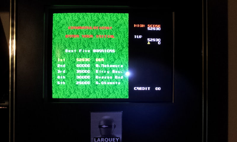Larquey: Namco Museum Vol. 2: Xevious (Playstation 1 Emulated) 52,830 points on 2018-02-04 12:11:21