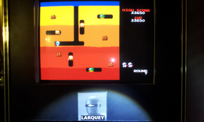 Larquey: Namco Museum Vol. 3: Dig Dug (Playstation 1 Emulated) 33,650 points on 2018-02-05 11:03:36