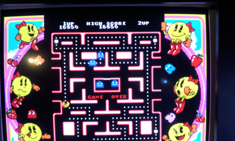 Namco Museum Vol. 3: Ms. Pac-Man 16,850 points