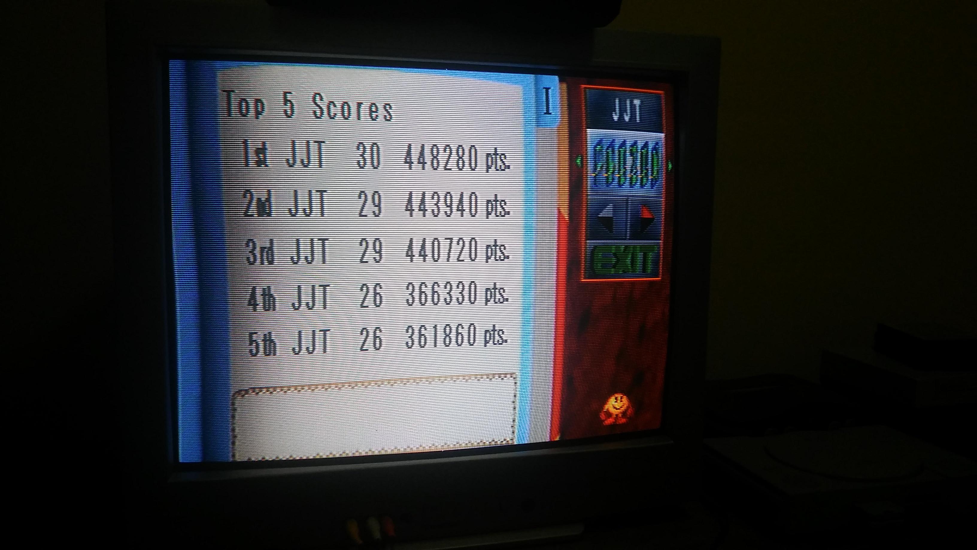 JonJTorres2000: Namco Museum Vol. 3: Phozon (Playstation 1) 448,280 points on 2016-11-27 15:39:05