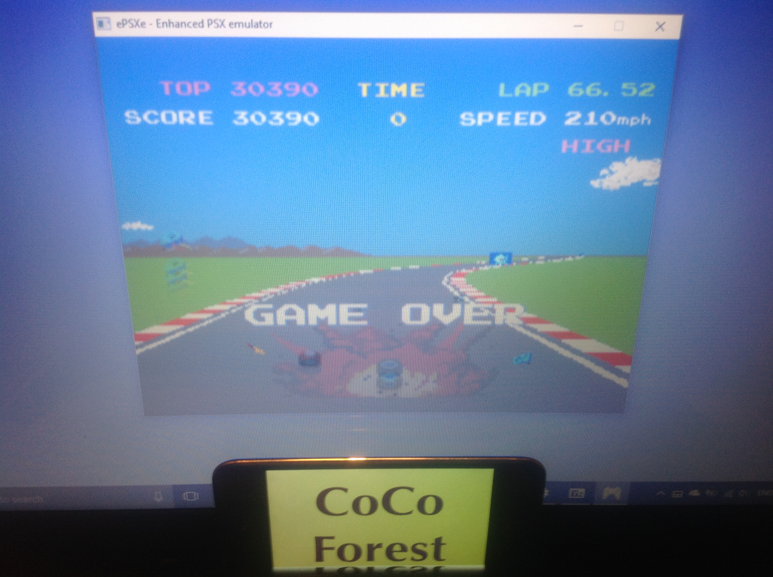 CoCoForest: Namco Museum Vol. 3: Pole Position II (Playstation 1 Emulated) 30,390 points on 2018-01-28 14:01:09