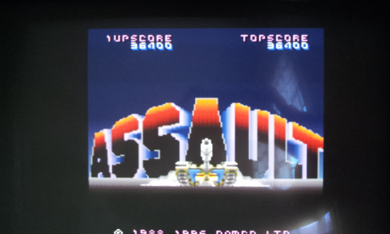 Namco Museum Vol. 4: Assault 36,400 points