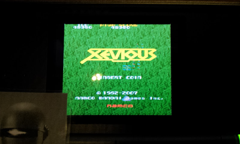 Larquey: Namco Museum: Xevious (Nintendo DS) 45,360 points on 2017-10-14 15:26:12