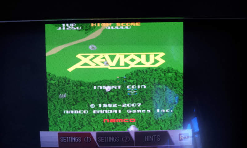 Larquey: Namco Museum: Xevious (Nintendo DS Emulated) 31,260 points on 2018-08-15 05:43:14