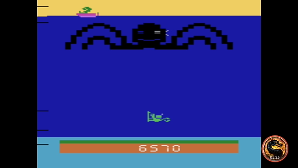 omargeddon: Name This Game / Octopus (Atari 2600 Emulated Novice/B Mode) 6,570 points on 2019-08-24 23:36:12