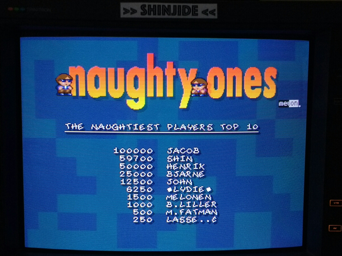 Naughty Ones 59,700 points