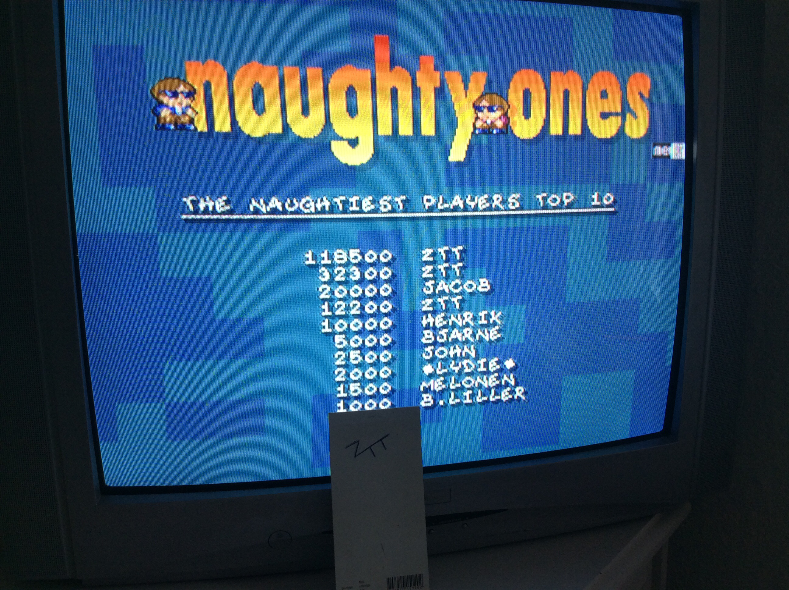 Frankie: Naughty Ones (Amiga) 118,500 points on 2016-07-07 13:03:07