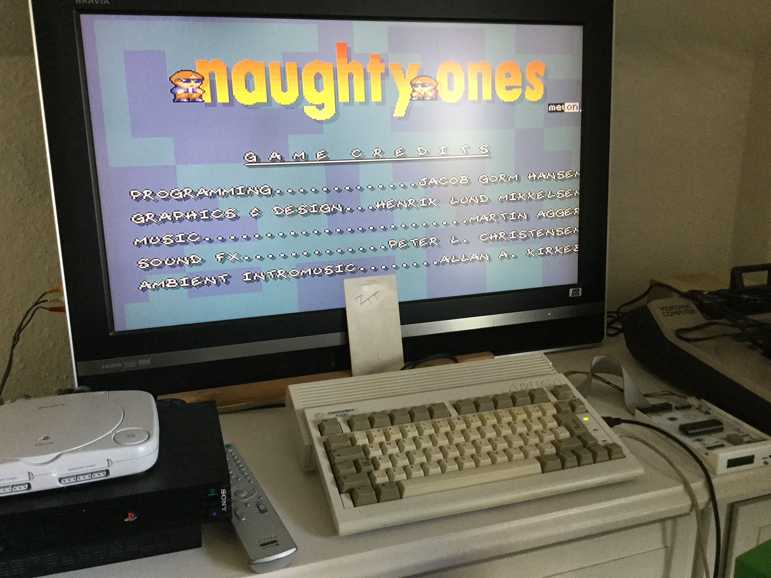 Frankie: Naughty Ones (Amiga) 127,800 points on 2020-04-25 03:00:36