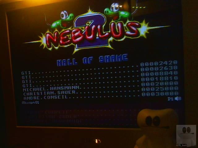 GTibel: Nebulus 2: Pogo a Gogo (Amiga) 18,810 points on 2018-02-14 08:52:08