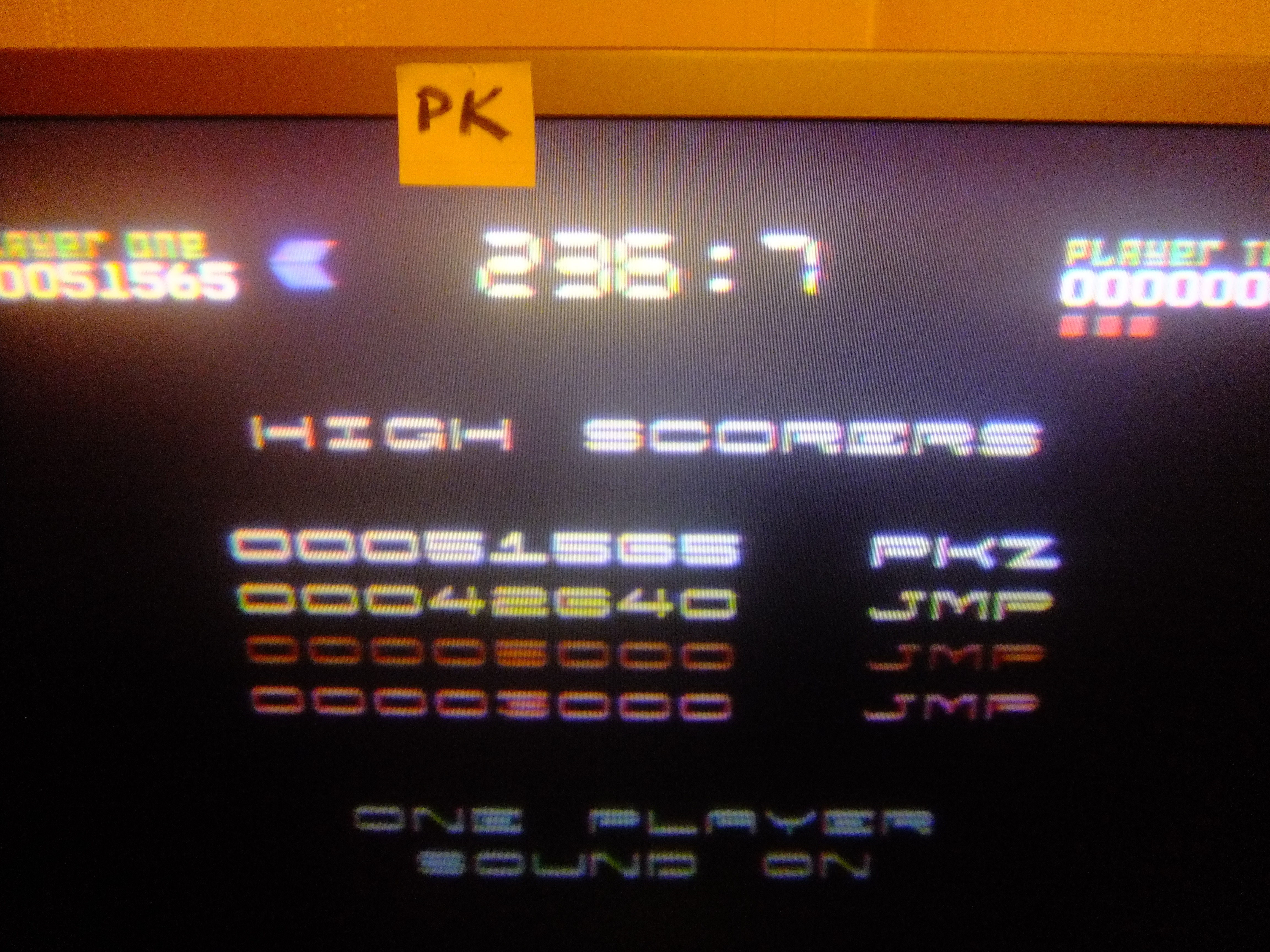 kernzy: Nebulus (Commodore 64) 51,565 points on 2015-11-21 20:43:42