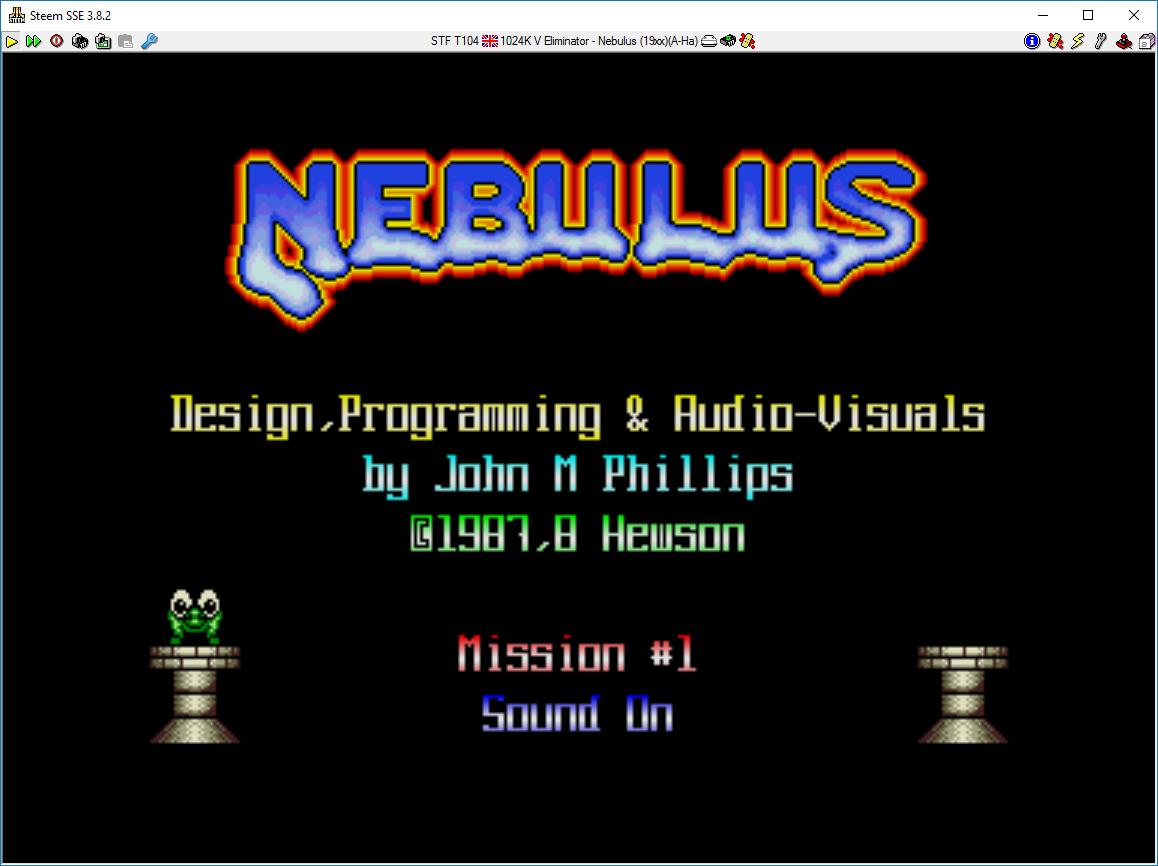 Nebulus / Tower Toppler 17,298 points