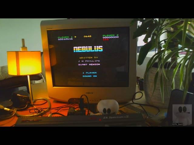GTibel: Nebulus (ZX Spectrum) 12,616 points on 2019-06-20 09:16:54