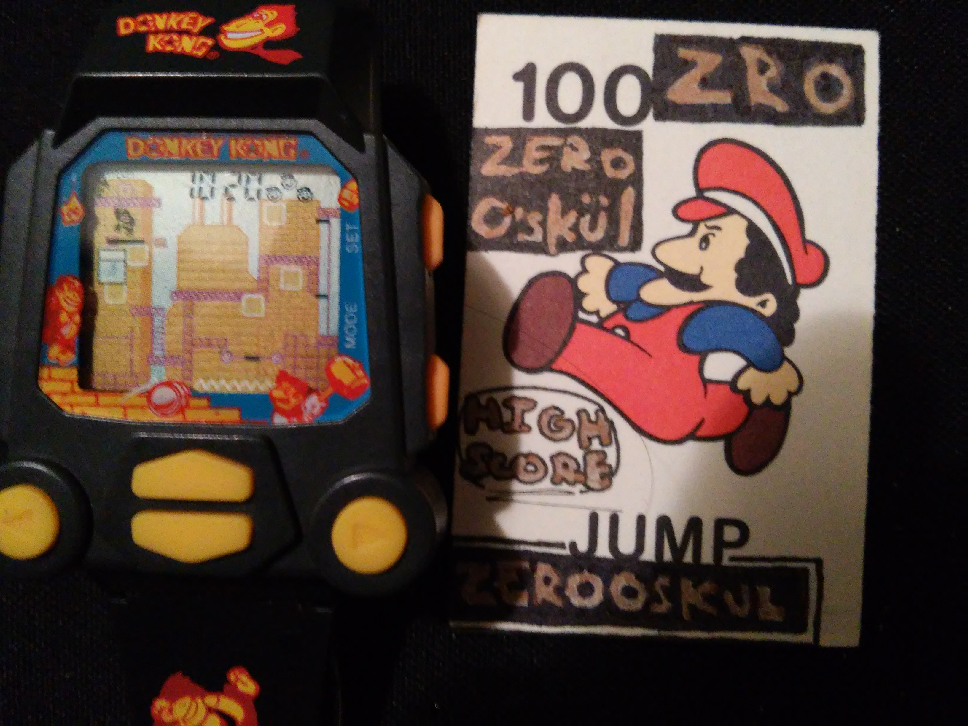 Nelsonic Donkey Kong Game Watch 1,020 points