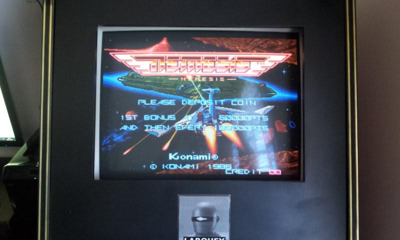 Larquey: Nemesis [nemesis] (Arcade Emulated / M.A.M.E.) 46,200 points on 2018-04-01 07:50:47
