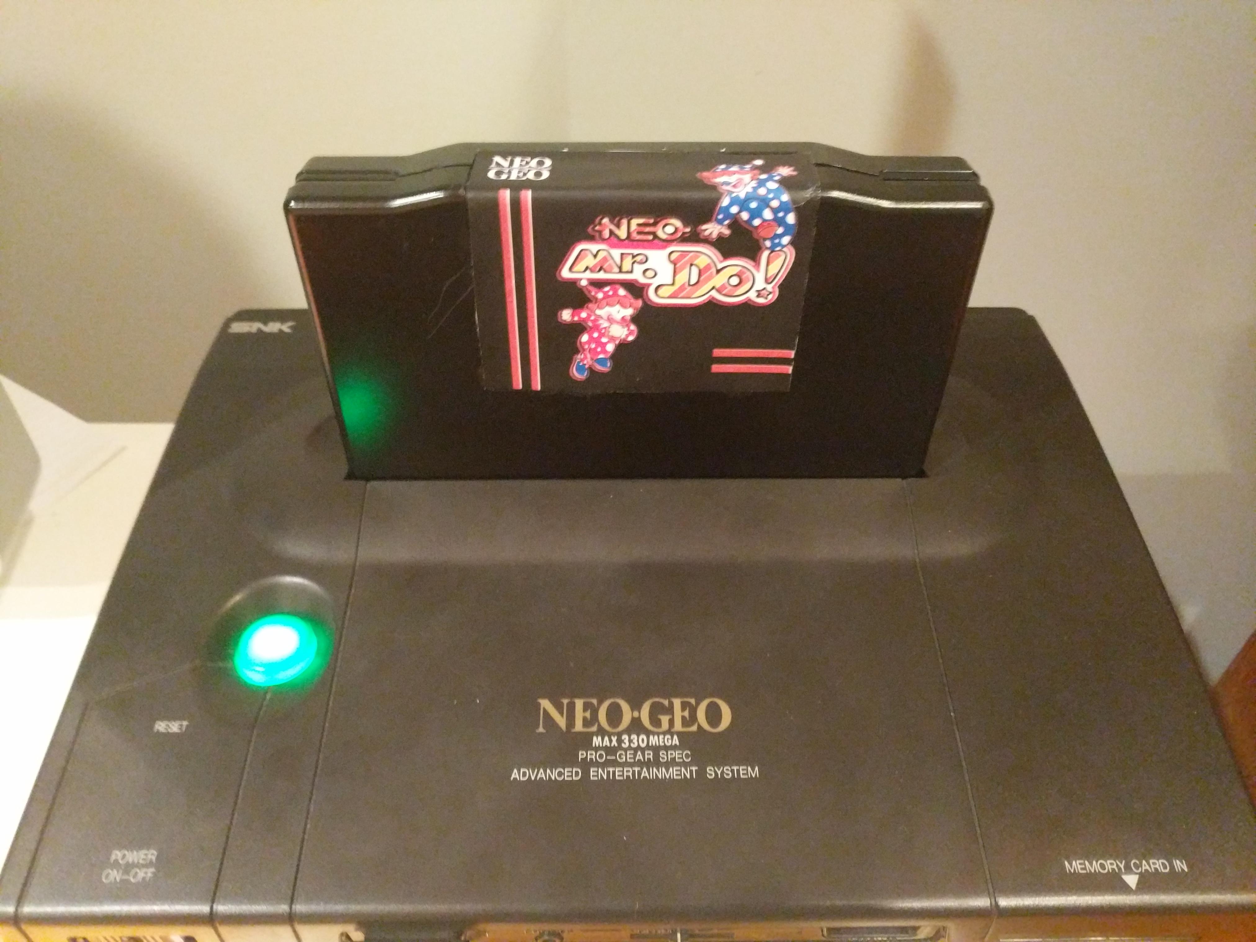 Neo Mr. Do 122,000 points