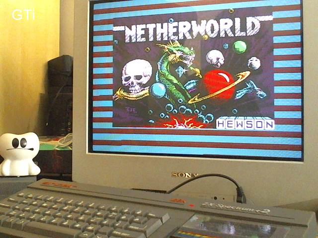 GTibel: Netherworld [Start Level 1] (ZX Spectrum) 6,125 points on 2017-06-18 03:07:47