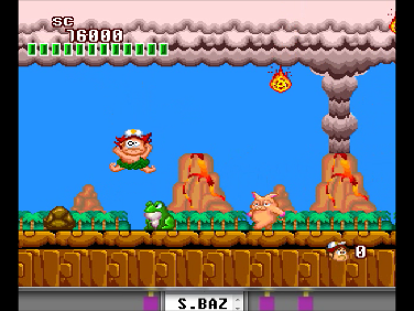 S.BAZ: New Adventure Island (TurboGrafx-16/PC Engine Emulated) 76,000 points on 2016-07-14 13:19:03