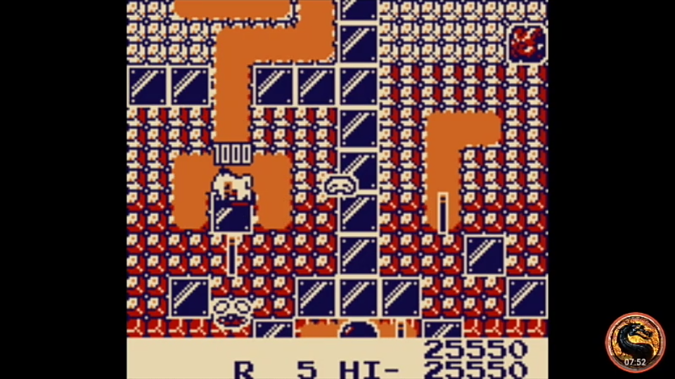 omargeddon: New Dig Dug (Game Boy Emulated) 25,550 points on 2019-11-24 20:09:47