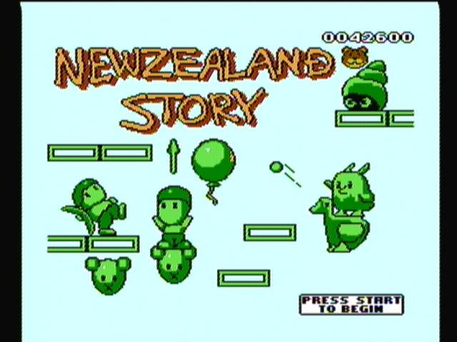 New Zealand Story 42,600 points