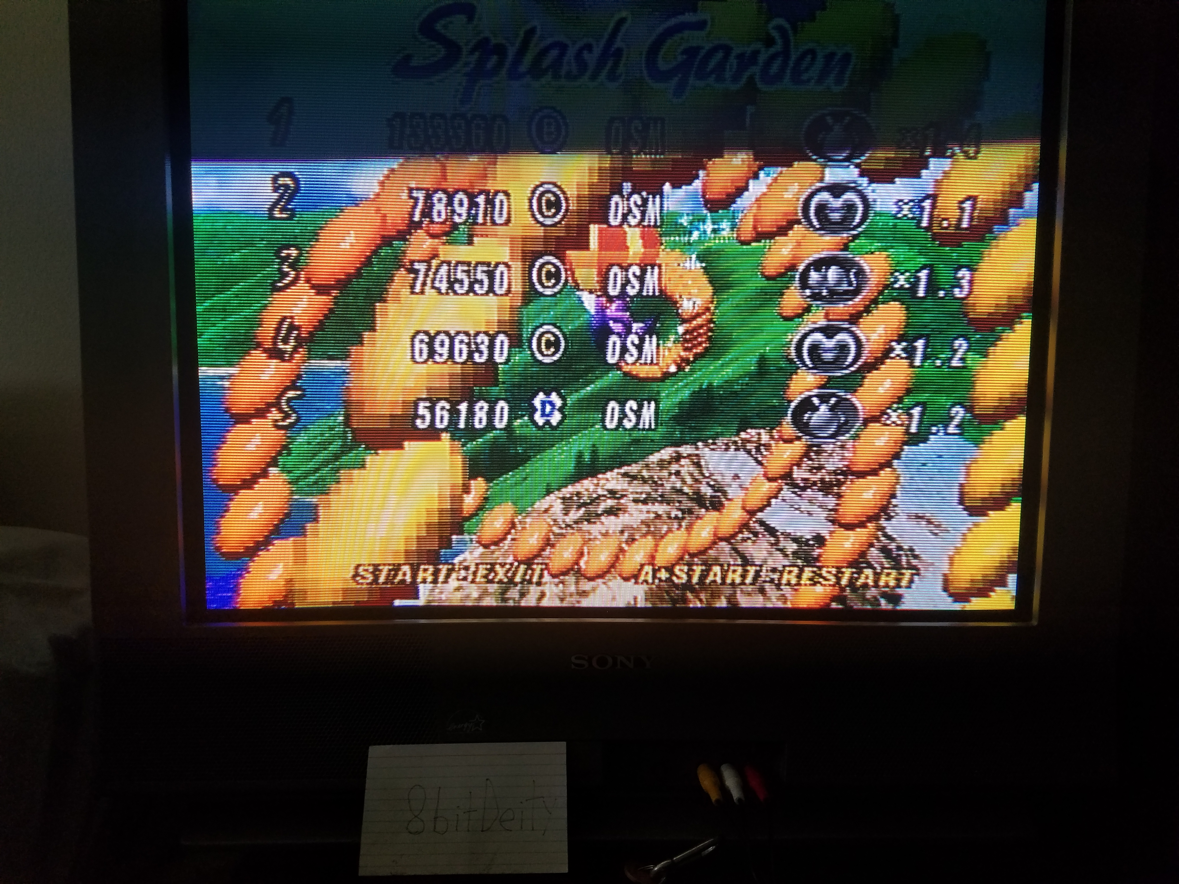 8bitDeity: NiGHTS Into Dreams: Splash Garden (Sega Saturn) 133,360 points on 2018-08-17 17:27:12
