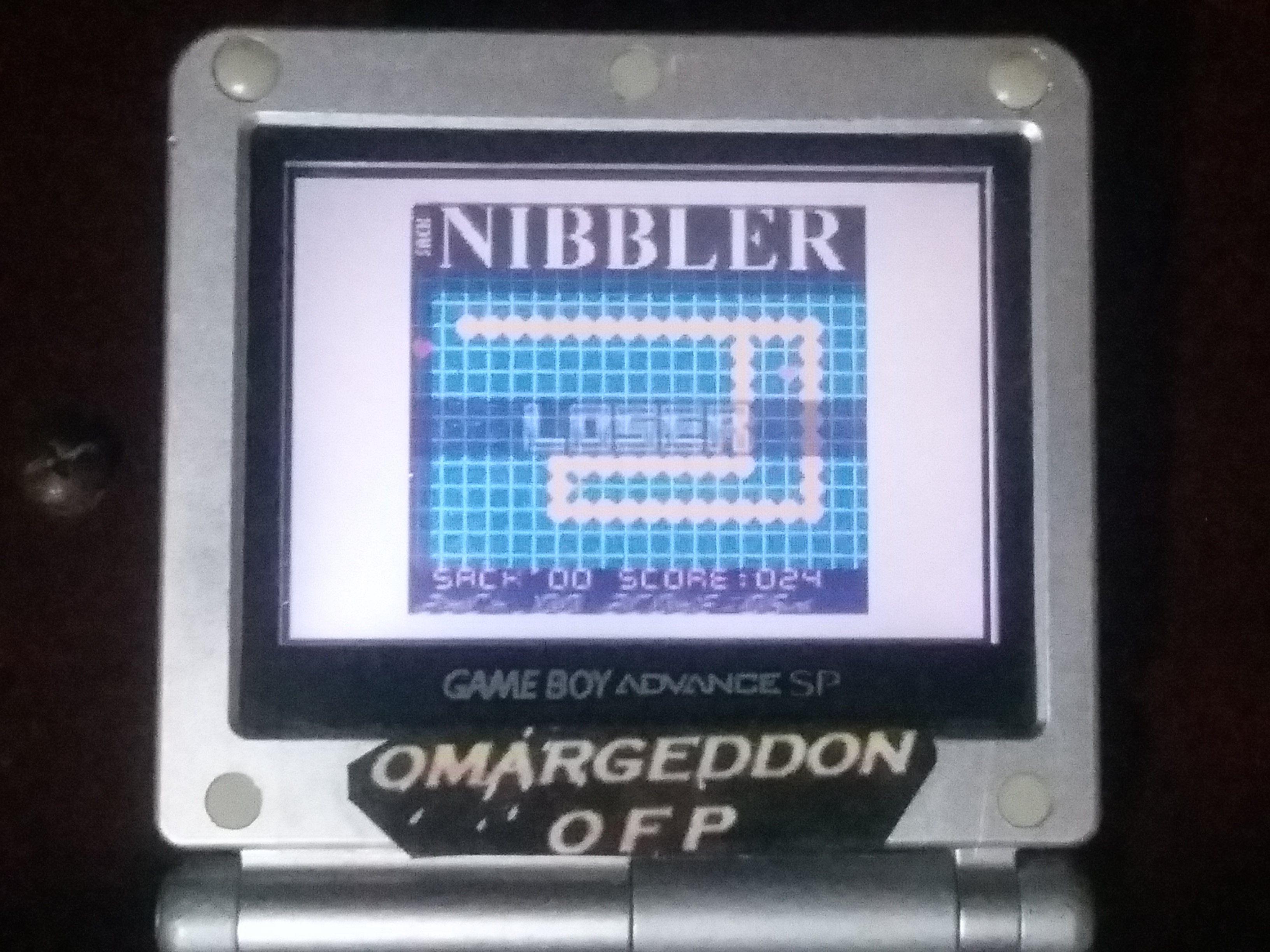 omargeddon: Nibbler (Game Boy Color) 24 points on 2018-01-29 18:41:07