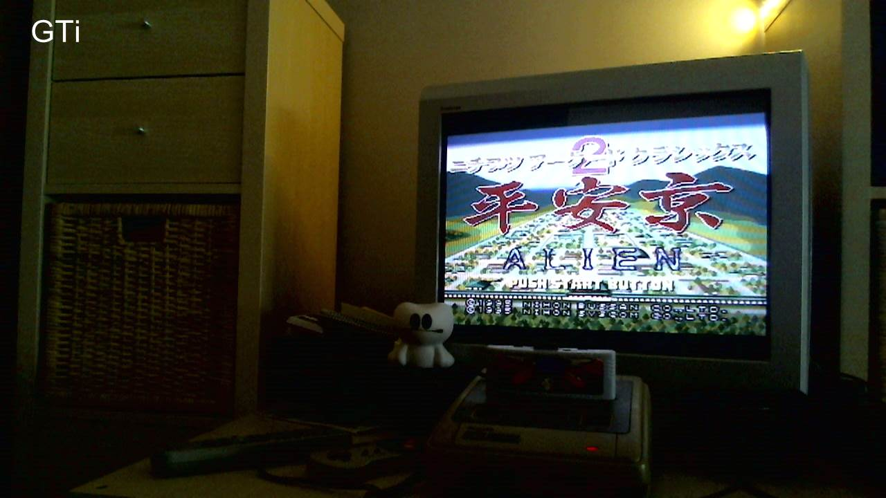 GTibel: Nichibutsu Arcade Classics 2: Heiankyou Alien [Original] (SNES/Super Famicom) 10,800 points on 2016-11-19 01:54:36