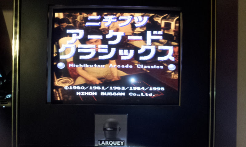 Larquey: Nichibutsu Arcade Classics:  Frisky Tom (Playstation 1 Emulated) 21,700 points on 2018-02-10 09:49:58