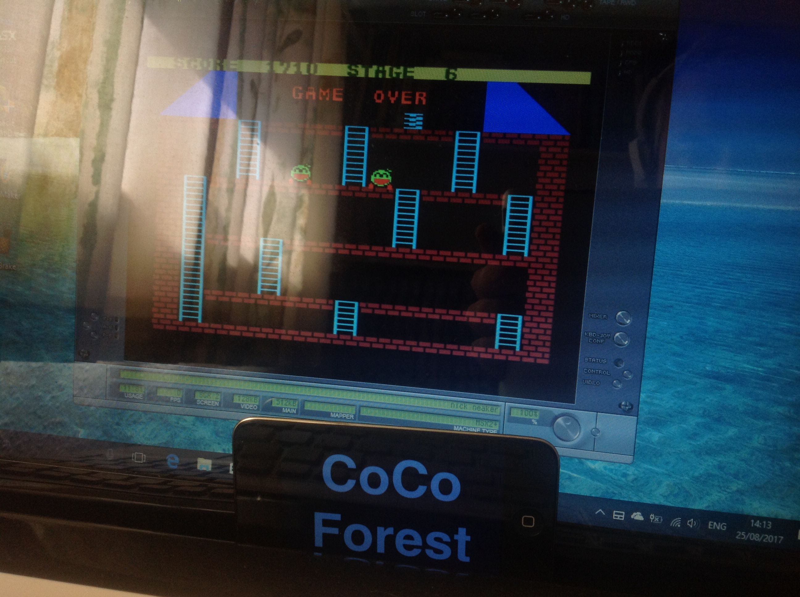 CoCoForest: Nick Neaker (MSX Emulated) 1,710 points on 2017-08-25 08:15:00