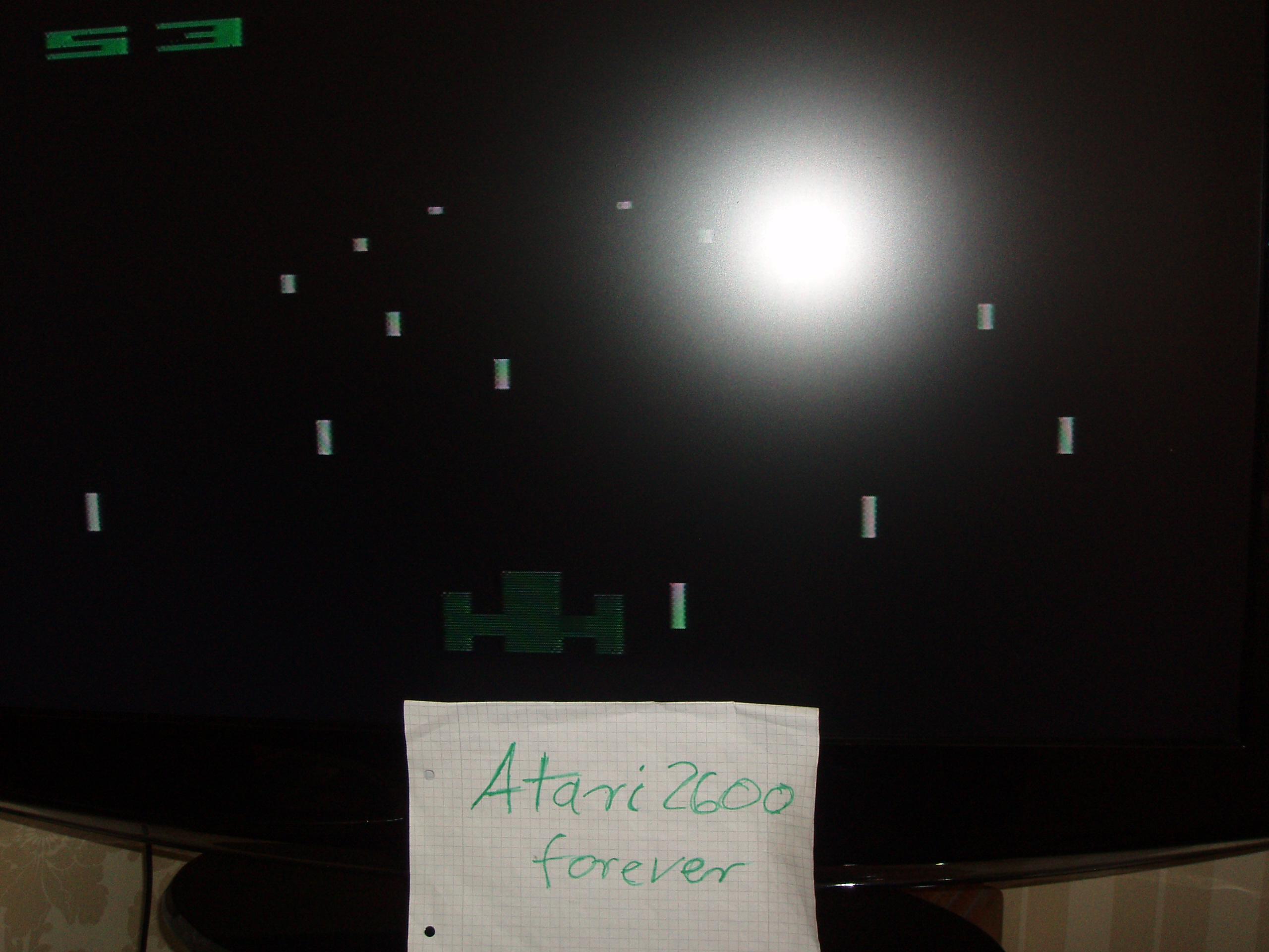 atari2600forever: Night Driver (Atari 2600 Novice/B) 53 points on 2016-04-25 10:06:32