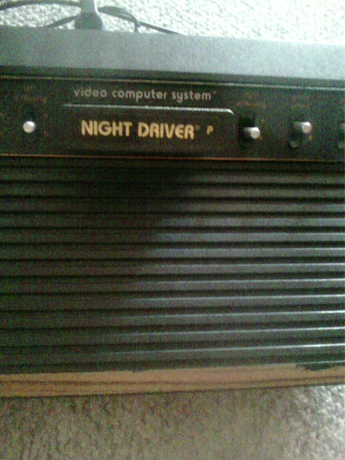 MisterVCS: Night Driver (Atari 2600 Novice/B) 54 points on 2018-08-18 09:24:56