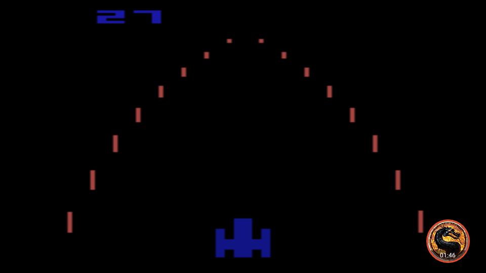 omargeddon: Night Driver: Game 1AB (Atari 2600 Emulated) 27 points on 2019-05-05 12:31:47