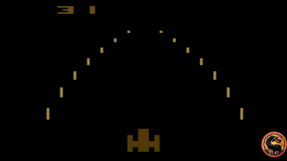 omargeddon: Night Driver: Game 1BA (Atari 2600 Emulated) 31 points on 2019-05-05 12:31:03